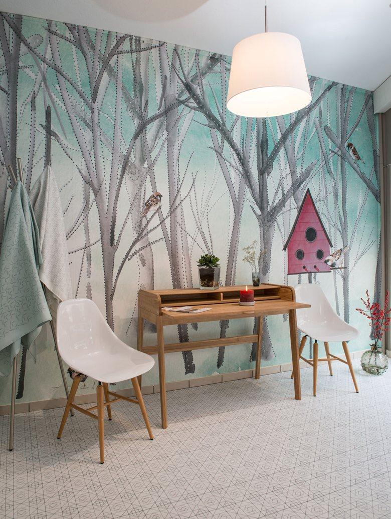 """Pajarera"" Showroom SweetLittleDots by Silvia Betancourt"