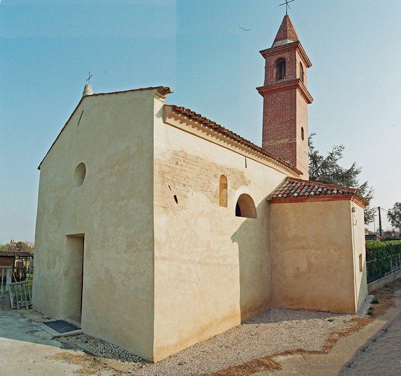 Restauro chiesetta di S. Andrea
