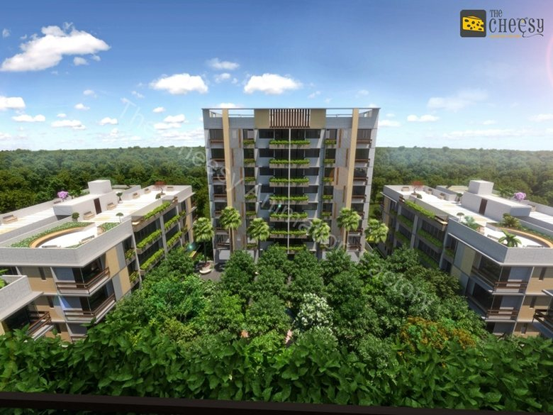 3D Exterior Rendering Agency Services.