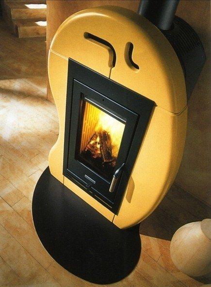 SASSOLINA - ceramic stove