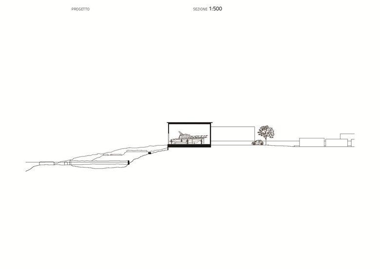 padiglione espositivo + mensa mattonara