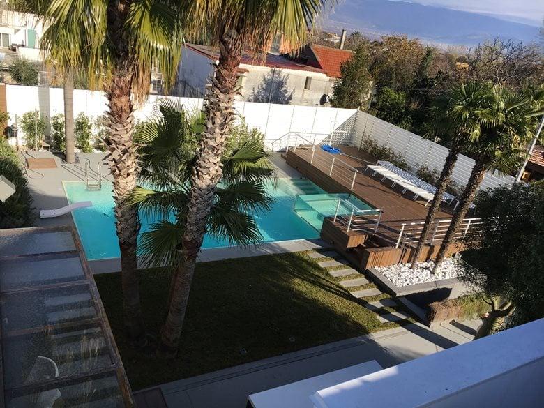 Rimodellamento con piscina CASA GD