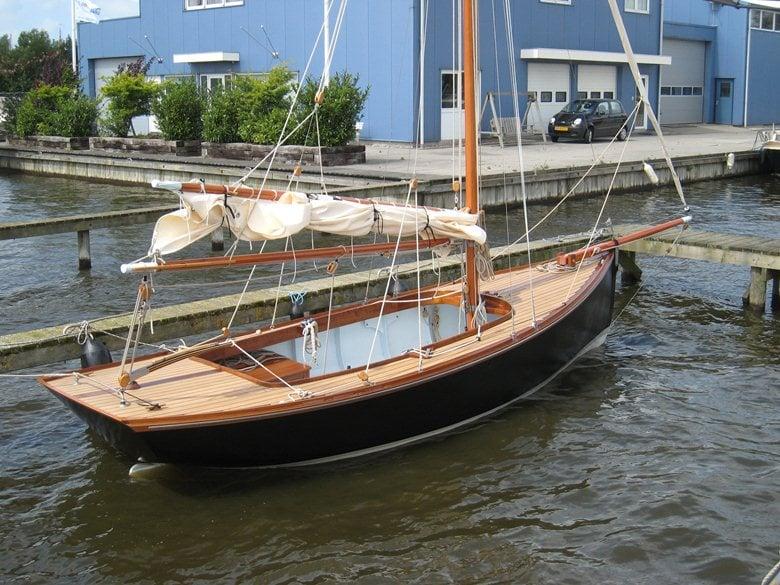 20 ft  classic daysailer, yacht design  | pieter dijkstra