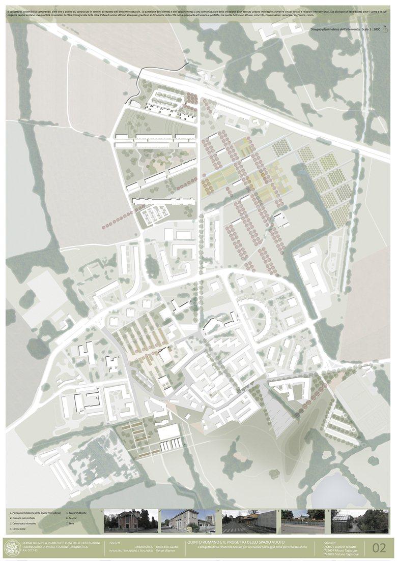 Il progetto della residenza sociale per un nuovo paesaggio della periferia Milanese