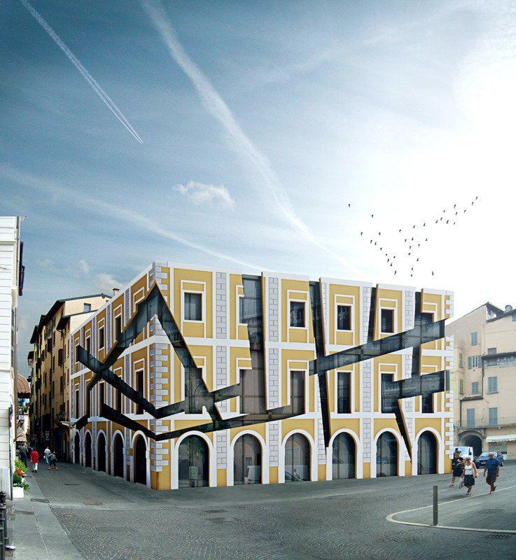 Progetto per la ristrutturazione della Pensilina di Largo Formentone a Brescia