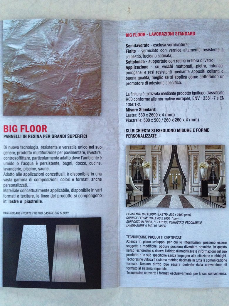 Coprire Piastrelle Cucina Con Pannelli pavimenti/rivestimenti in resina pregiata | giorgio aquilanti