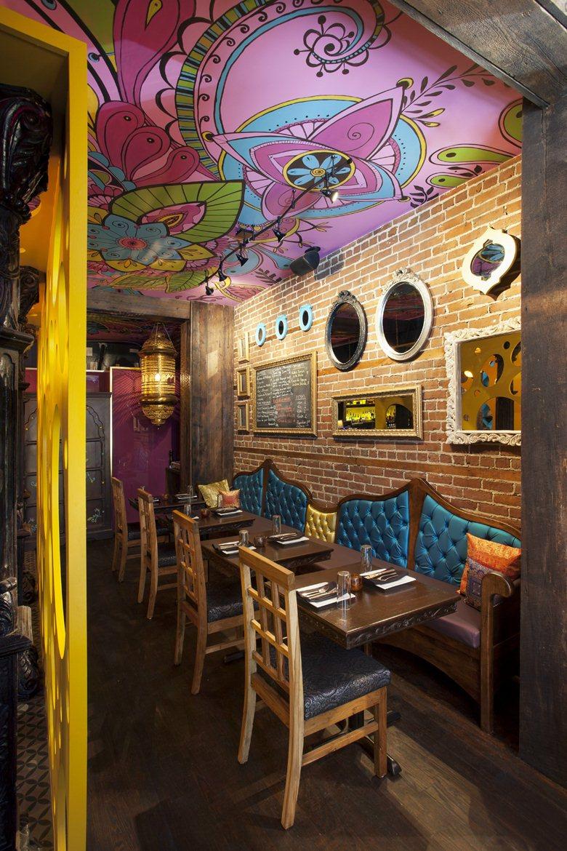 Indian Restaurant Rasoi Jean De Lessard Designers Creatifs