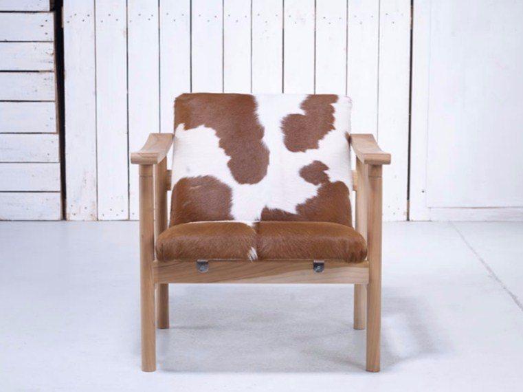 Hans Wegner Cowhide Armchair