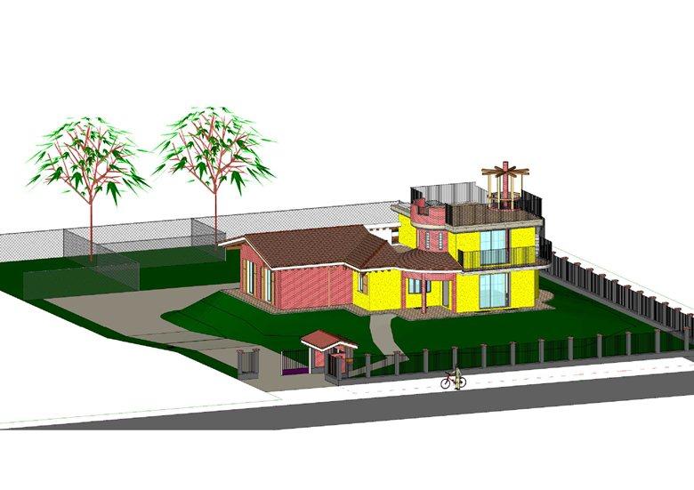 villa SunFlower House