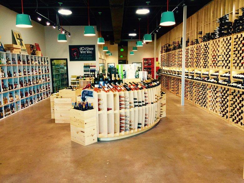 Bouzy Wine & Spirits, Colorado - Lighting by ilomio
