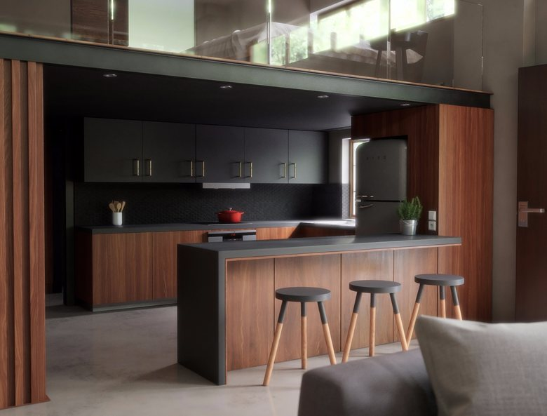Wood workshop to loft apartment