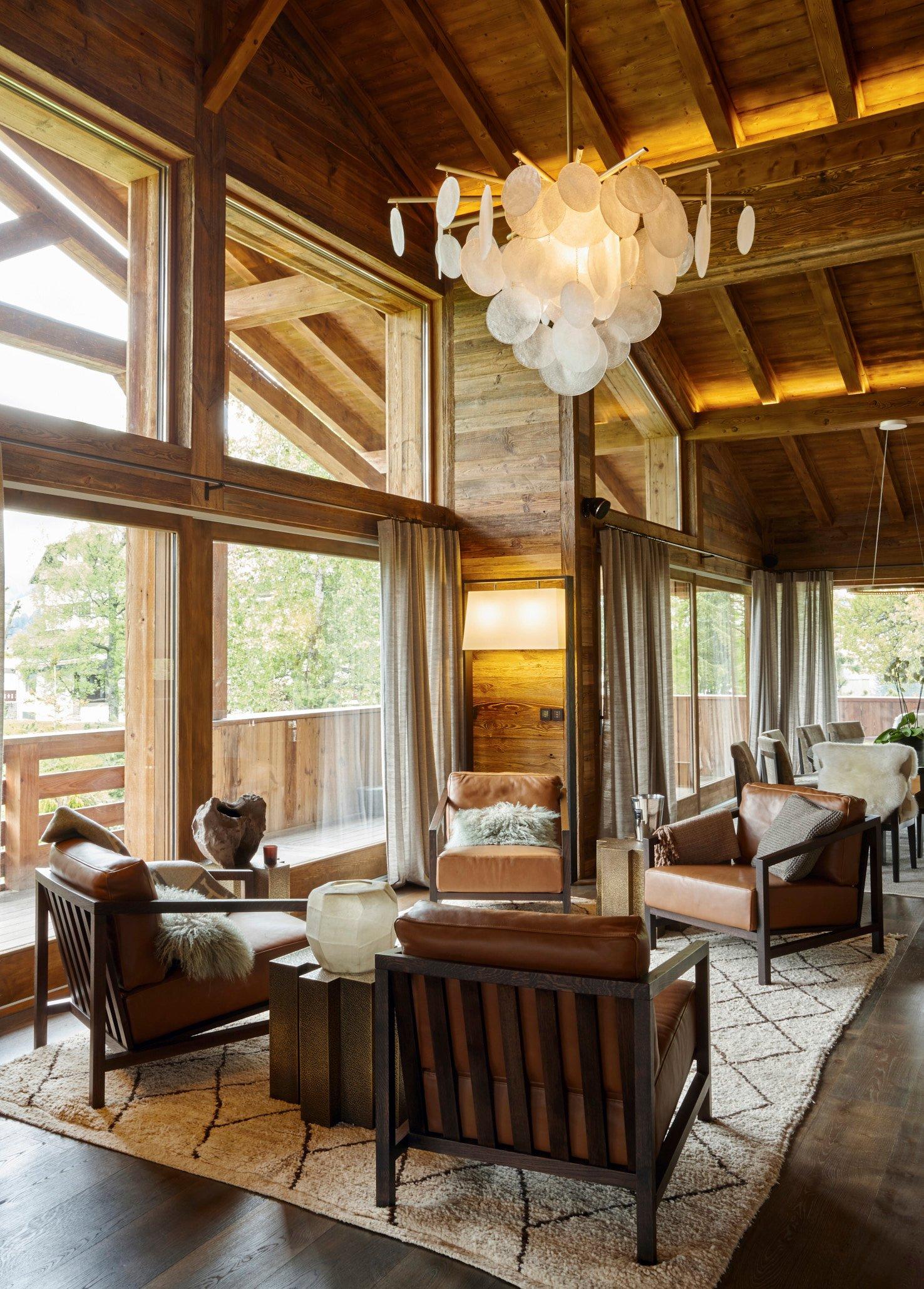 Le Refuge Megeve Architecte mont d'arbois | refuge - architecture d'intérieur