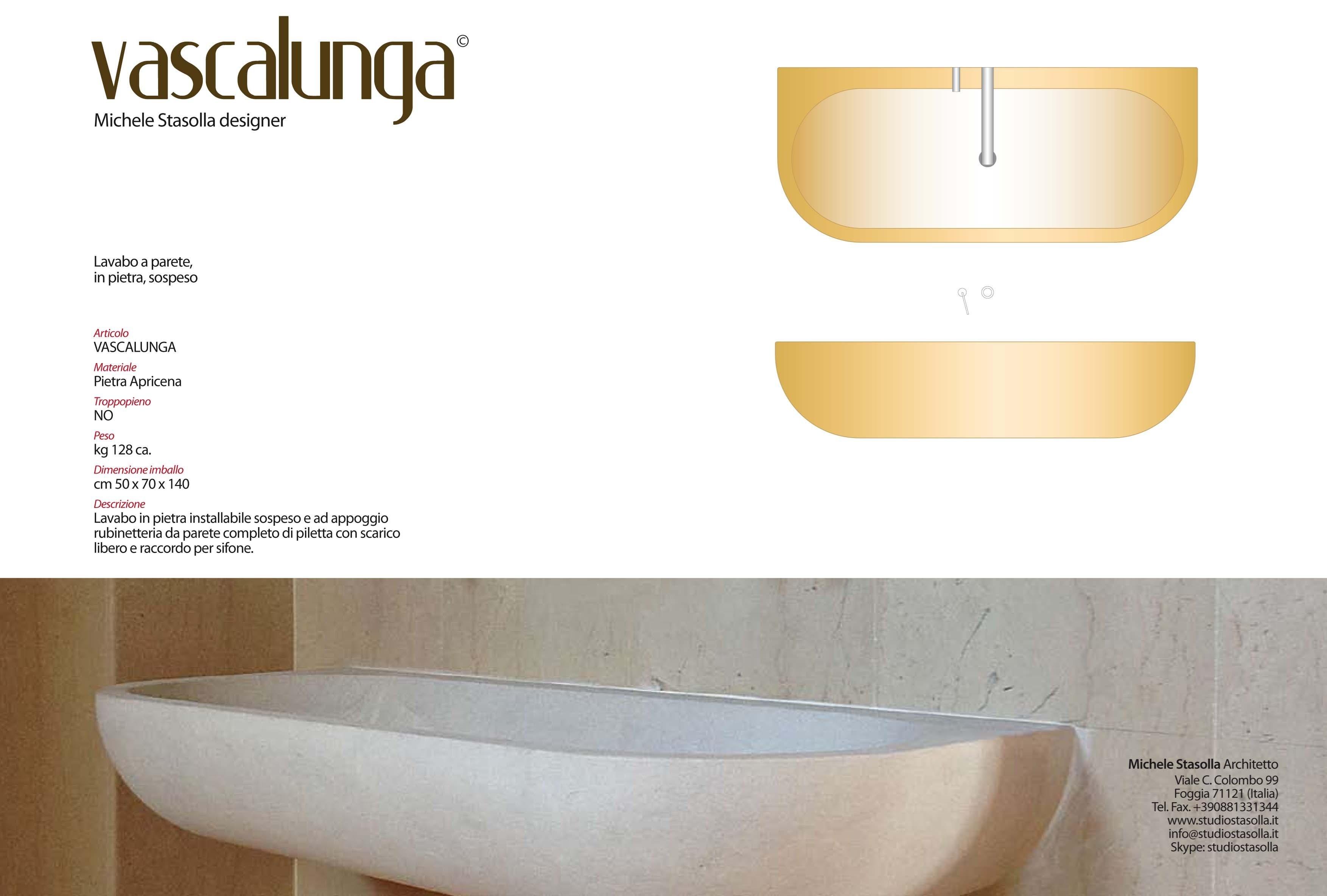 Piletta Per Lavabo Da Appoggio vascalunga - picture gallery