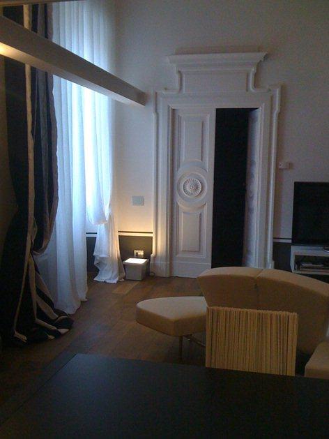 """""""bianco antico"""" restauro appartamento centro storico"""