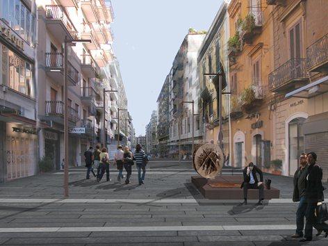 Via Sparano and Borgo murattiano redevelopment