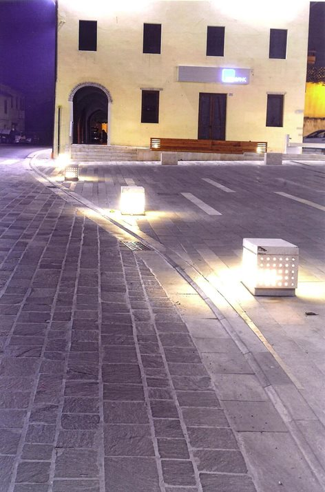 Piazza Roma - Brugnera (PN)