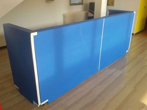 Protezione Top Surface per rivestimento tavolo giudici