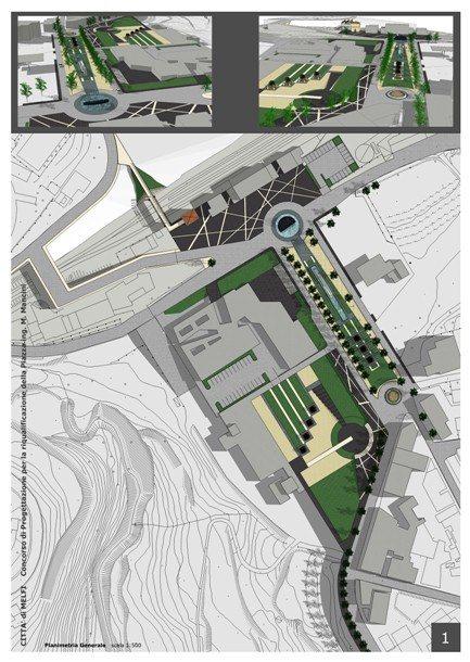 Concorso | Riqualificazione Piazza Ing. Mancini