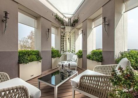 Il Terrazzo Giardino A Verona Sf Landscape Architecture
