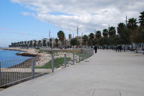 Mola di Bari: progetto di riqualificazione del fronte mare lato nord