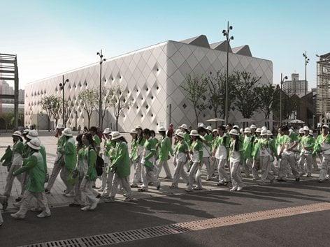 Pavilion B3 – 2 of the Shanghai World Expo 2010