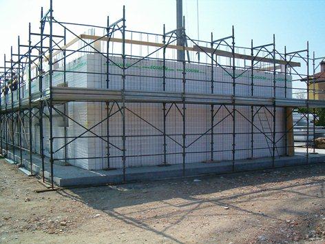 coordinamento sicurezza per costruzione edificio residenziale a 6 alloggi