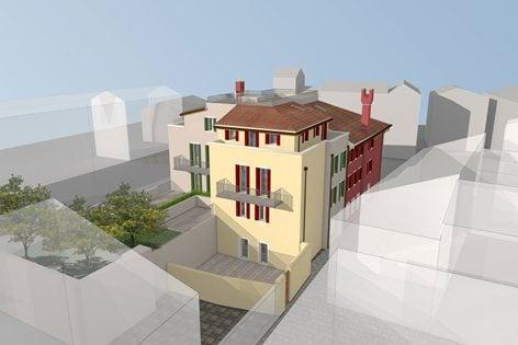 Ristrutturazione edificio storico a Caorle