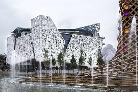 Italy Pavilion at Expo Milano 2015