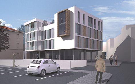 Progetto di riqualificazione Piazzale della Lana a Feltre (BL)