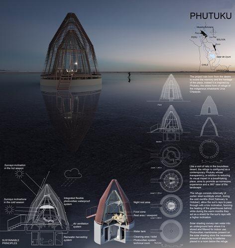 Uyuni salt flat shelter