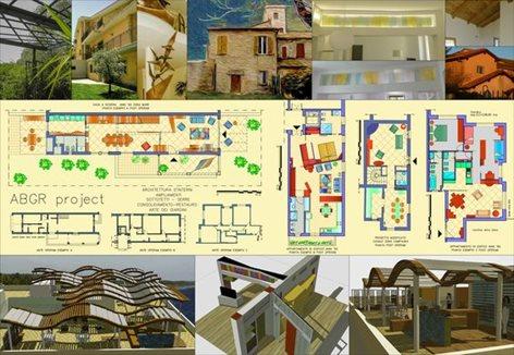 Progetti dell'Arch. Alberto Giampaoli e dell'Arch. Antonio Marco Alcaro