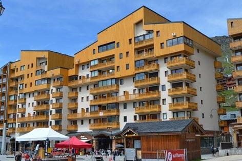 """Rinnovamento delle facciate immobile """"La Vanoise"""""""