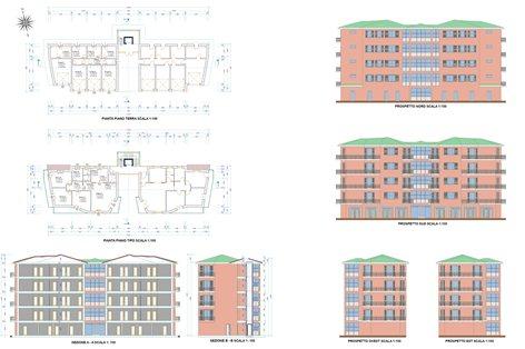 Progetto di un parco residenziale ecocompatibile