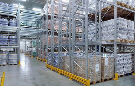 Block Sistem Scaffalature.Scaffalature Portapallet Block Sistem Centro Metalsistem Srl