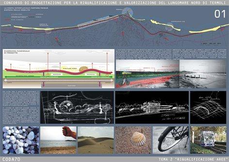 TEMA 2 - Riqualificazione e valorizzazione lungomare Nord di Termoli - 1°Premio