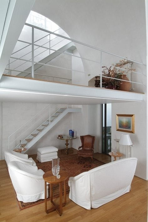 Bari Casa Con Terrazze Progettista Arch Domenica Rosa