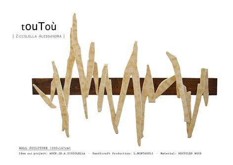 touToù - SCULTURA A PARETE