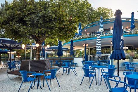 Blauwe Theehuis Studio Modijefsky
