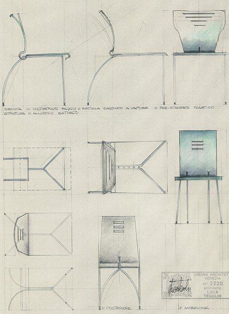studio di design per sedute