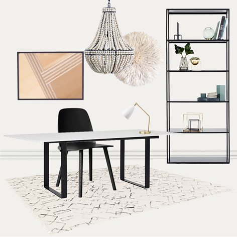 Soho Small Office Home Office Deckor Co