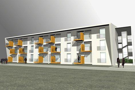 Edificio per 12 alloggi ecocompatibili