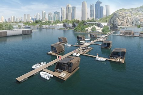 World Architecture Festival 2015_ Presentation of IRIDE 01 Floating Suite and Floating Village