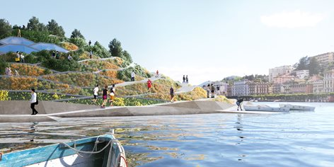 A vision for the Lugano lakefront