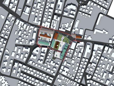 Concorso di idee per la riqualificazione urbanistica dell'area di Piazza Marconi e Piazza Fermi