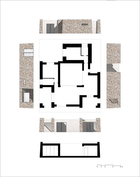 Progetto di ampliamento di un'antica Pajara salentina