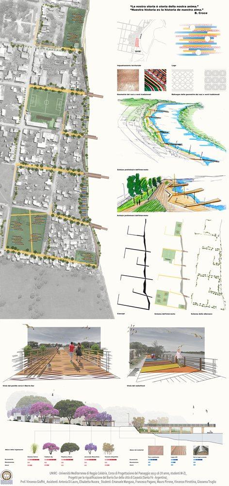 Riqualificazione Barrio Sur della città di Cayastà (Santa Fè - Argentina)