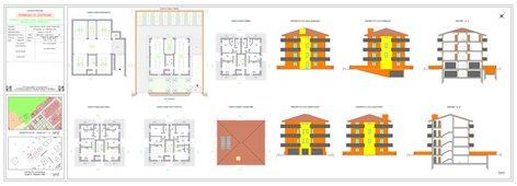 Progetto di demolizione e fedele ricostruzione immobile ad uso residenziale