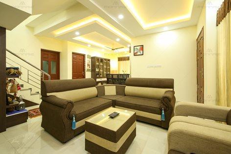 Contemporary Minimal Style Interior Designers Kochi Kerala Monnaie Architects Interiors