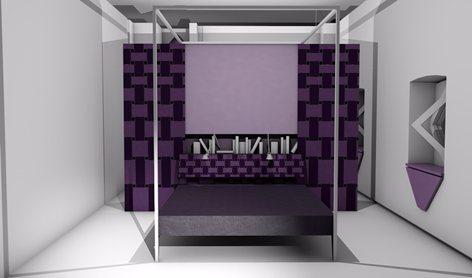 La camera da letto di Luchino Visconti ws PIDA design
