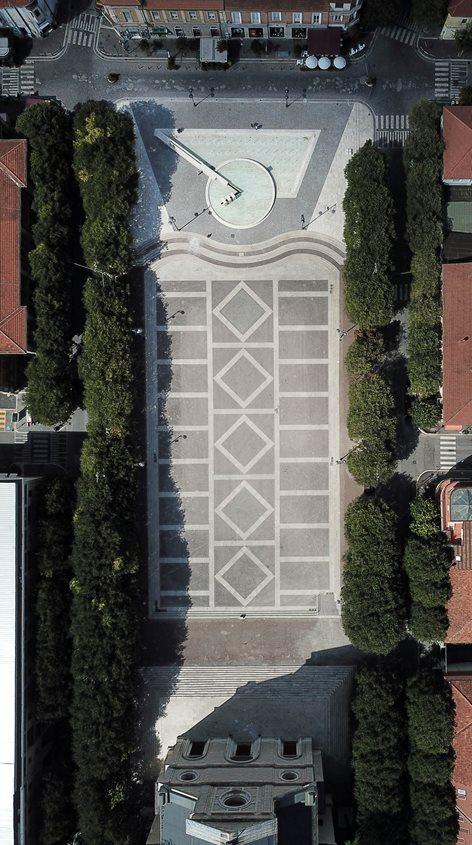 Riqualificazione della fontana in Piazza Risorgimento ed aree adiacenti